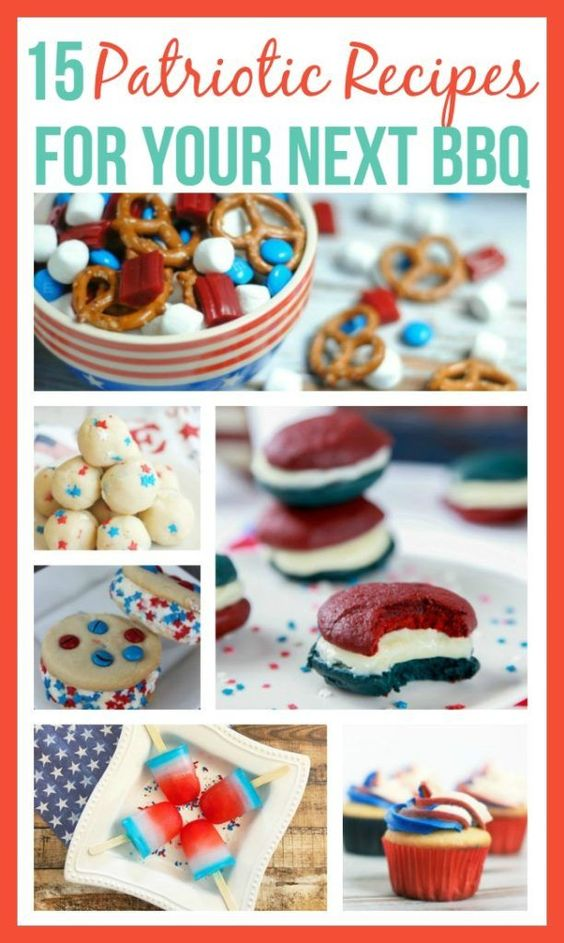 15 Patriotic Recipes (for Memorial Day or 4th of July) - Frugal Finds During Naptime