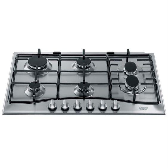 HOTPOINT PC 760 F X /HA - Table de cuisson gaz - Achat / Vente PLAQUE GAZ - Soldes* Cdiscount