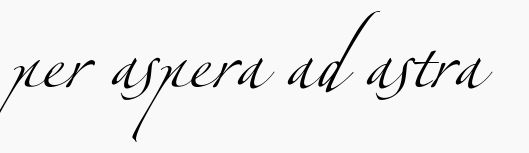 """Per aspera ad astra"" is latin for ""through difficulties to the stars"" + earth symbol in alchemy below, a dream tattoo"