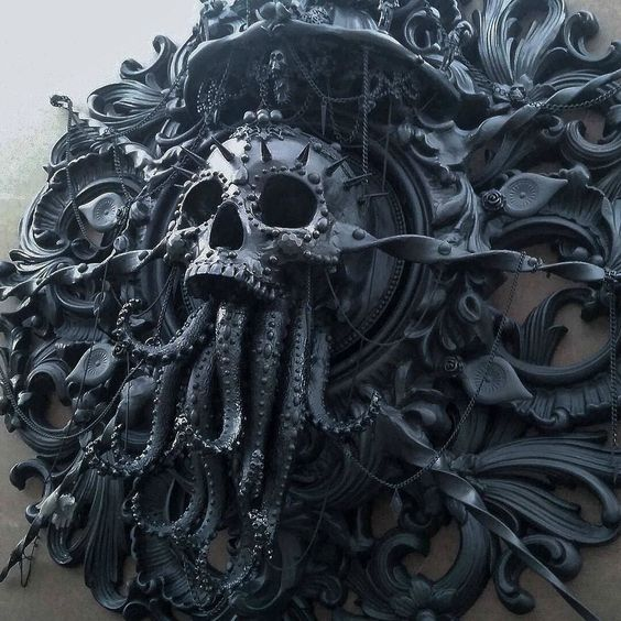 http://bit.ly/1iVuosw by outofstepbooks: Incredible #Cthulhu #sculpture by @cam_rackam! Be sure to visit Cam's page to see the final product and for TONS of inspiring art!! And if you dig #tentacles as much as we do be sure to check out our 'Eight Arms of Inspiration' book at www.OOSBooks.com