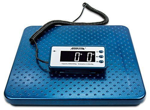 Accuteck 440lb Heavy Duty Digital Metal Industry Shipping Postal scale (ACB440) #ACCUTECK