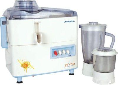 Crompton Prima Cg Rj Plus 450 W Juicer Mixer Grinder White Blue