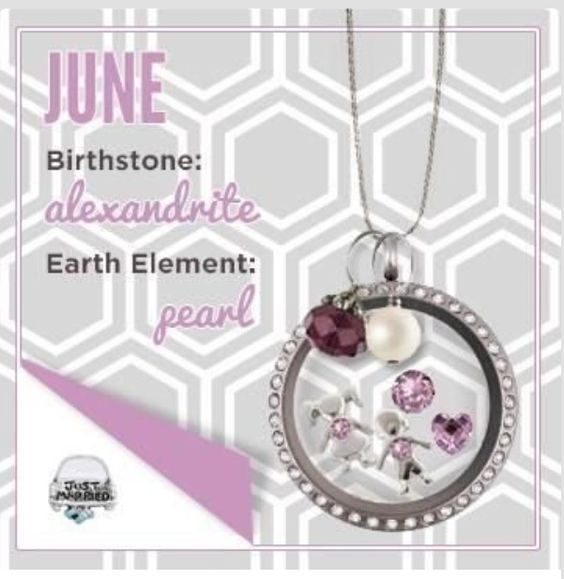 June - Origami Owl shop directly at elenas.origamiowl.com , i can generate samples and answer any questions you may have adoreandaspire@gmail.com