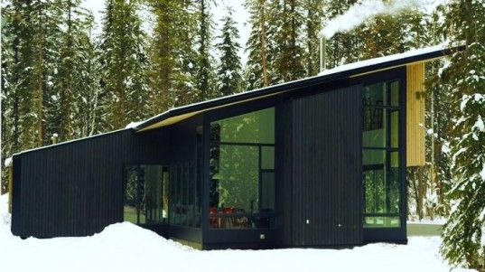 Form and Forest Completes First Flat Pack Prefab Cabin in British Columbia | Inhabitat - Sustainable Design Innovation, Eco Architecture, Gr...