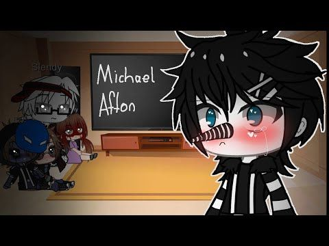 Creepypasta React To Michael Afton Memes Gacha Club 1 6 Youtube Afton Roblox Pictures Cute Drawings
