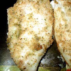 Simple Ranchy Breaded Tiaplia Fish. Yummy in a tummy!