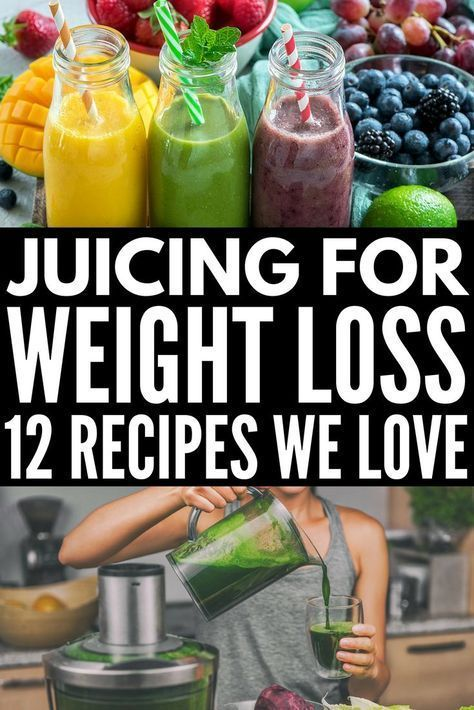 12 Delicious Juicing Recipes for Weight Loss - Meraki Lane