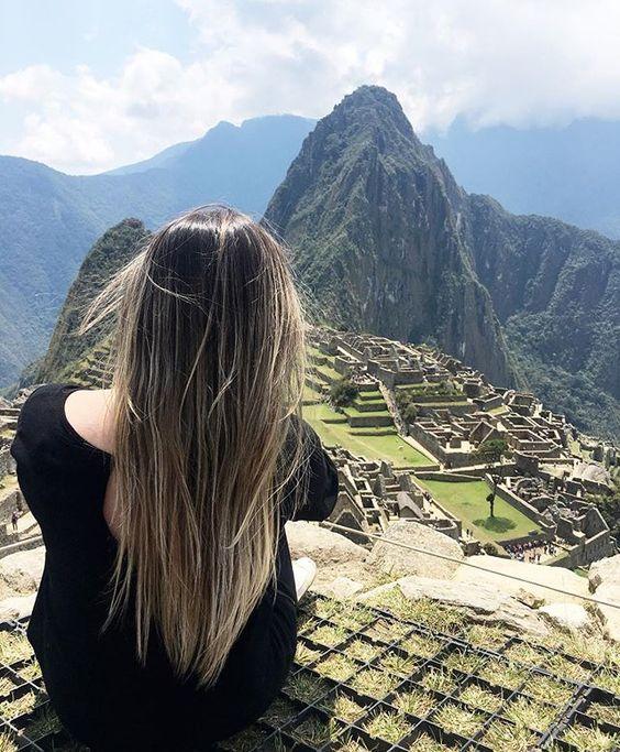 Muita gente me falou pra fazer 3 pedidos quando eu chegasse aqui, mas, eu só consegui agradecer!! Pela vida, pela família, pela saúde e por essa oportunidade única de viver essa experiência incrível!! #machupicchu #peru #cusco #incas ❤️