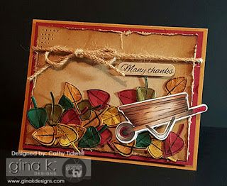 Cat's Creations: Gina K Designs August Release Inspiration Blog Hop, day 2!!