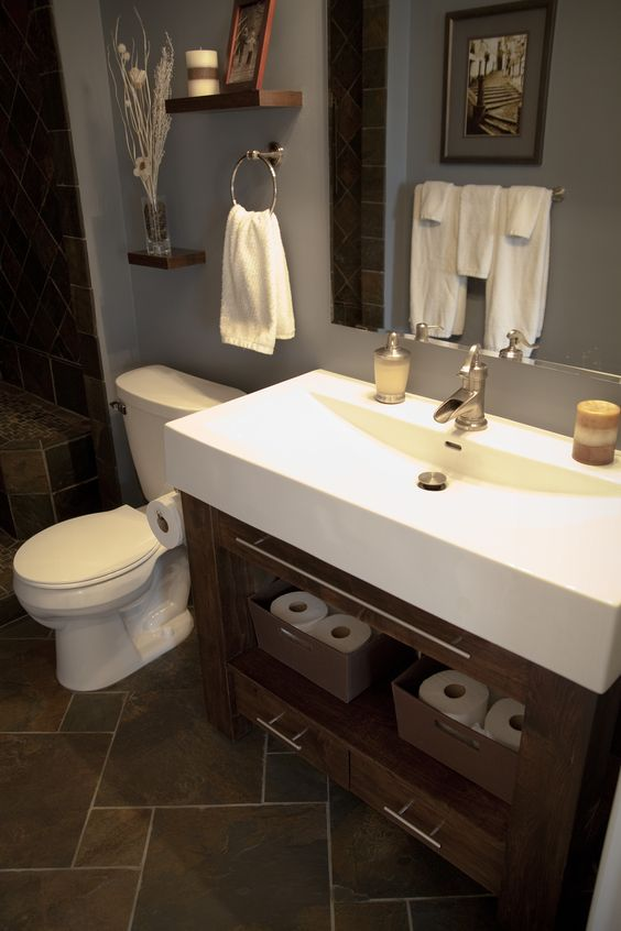 Toilets Slate Bathroom And Vanities On Pinterest