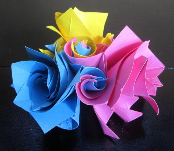 Origami Segnaposto #table #homedecor #home #diy