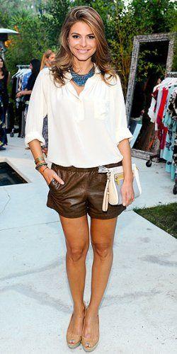 Fashion Wrap Up // madewell leather shorts