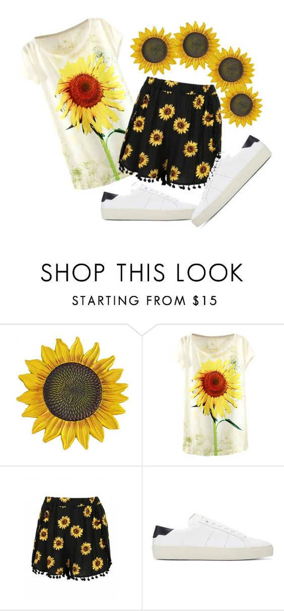 """Untitled #570"" by rhaxkido ❤ liked on Polyvore featuring Yves Saint Laurent"