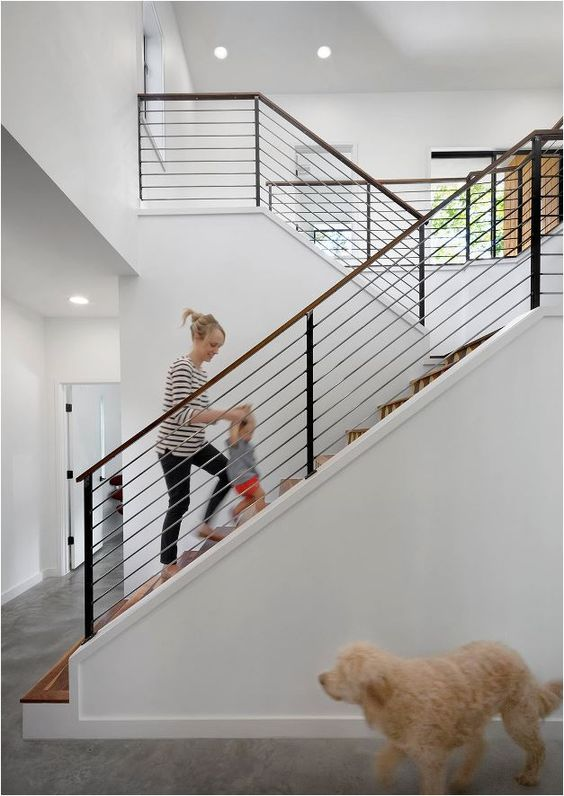 Best Stunning Stair Railings Centsational Girl Condo 640 x 480