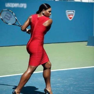 Serena Williams. She's really got game, set and match.