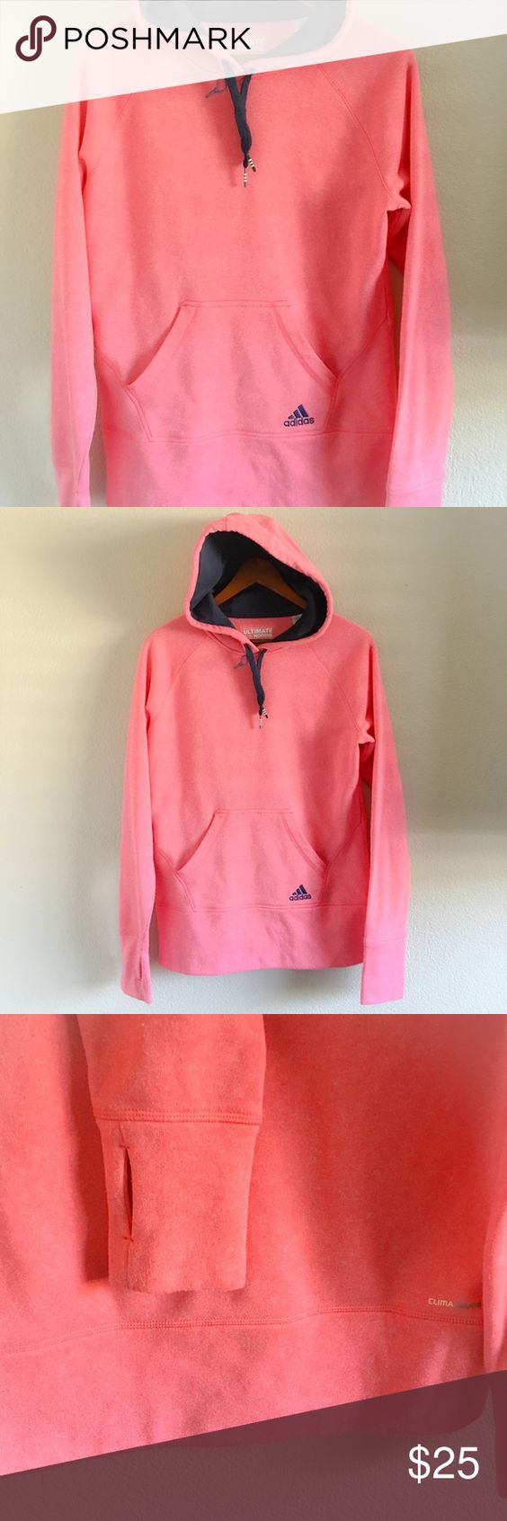 Adidas Pullover Hoodie Super soft and comfy! Ultimate Hoodie Adidas Tops Sweatshirts & Hoodies