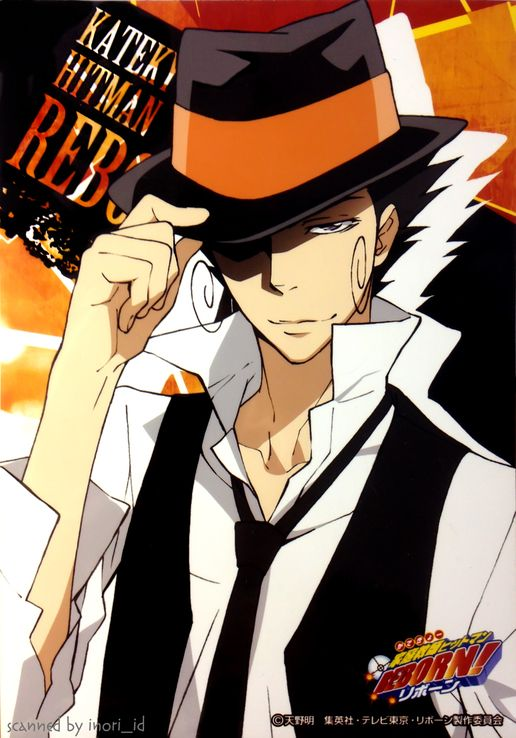Hitman reborn on pinterest - Adult manga 2 ...