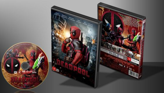 Deadpool - Capa | VITRINE - Galeria De Capas - Designer Covers Custom | Capas & Labels Customizados