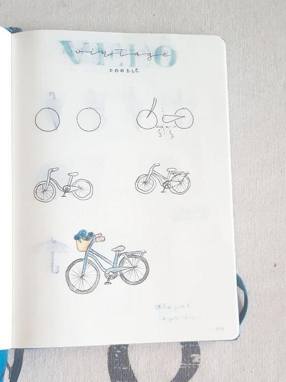 10 doodles pour votre Bullet Journal