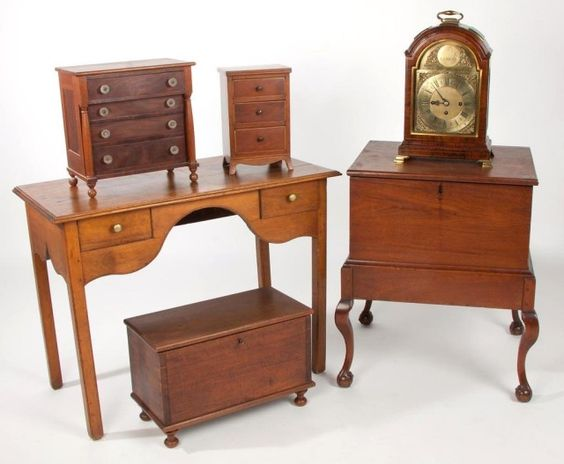 Sample Of Virginia And North Carolina Furniture Including An Extremely Rare Chippendale Walnut B Southern Furniture North Carolina Furniture Colonial Furniture