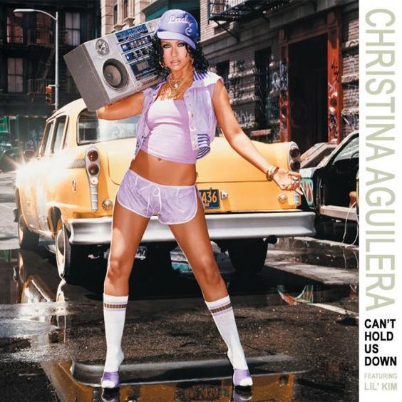 Christina Aguilera, Lil' Kim – Can't Hold Us Down (single cover art)