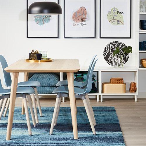 Lisabo Leifarne Set Table Et Chaises Salle A Manger Table Et Chaises Salle A Manger Ikea Table Salle A Manger