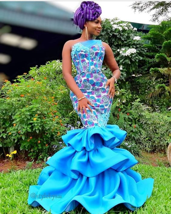 74 Edition Of #Ebfablook - Aso Ebi Lace Style and African Print Outfits To look Beautiful - Emmanuel's Blog