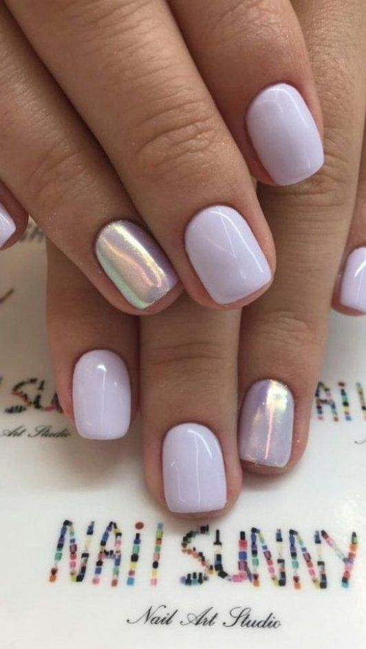 Pin By Novelia Zf Zierk On Nail Art In 2020 Lavender Nails Summer Nails Colors Designs Turquoise Nails