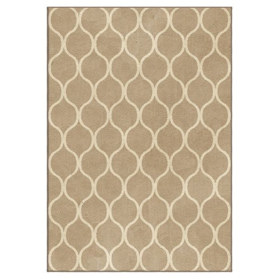 Adobe Solid Woven Area Rug - (
