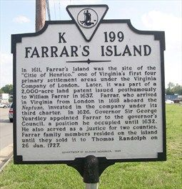Farrar S Island Virginia Historical Markers On Waymarking Com Historical Marker Historic Travel Virginia Travel