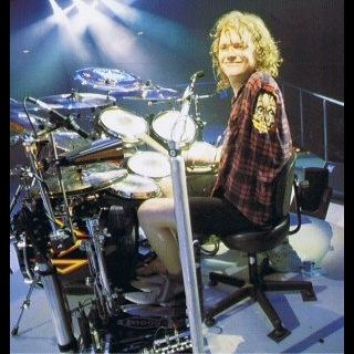 Rick Allen.. Drummer for Def Leppard. This dude is awesome.