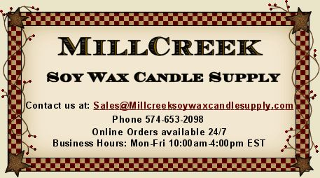 Wonderful fragrances and excellent prices for soy candle making
