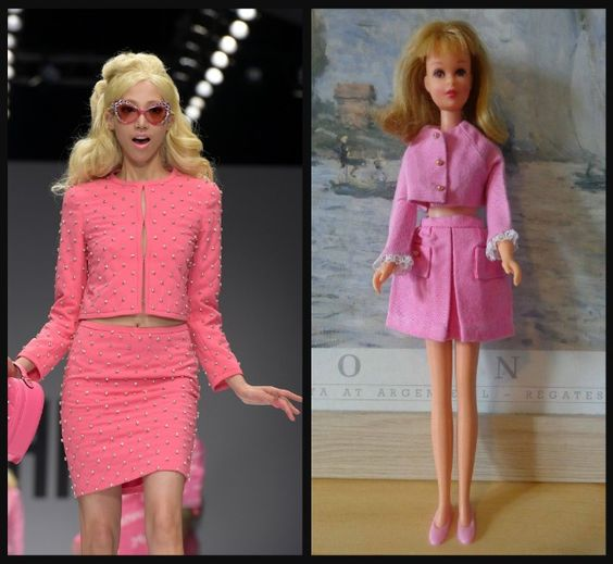 10 Moschino Outfits That Look Identical To Barbie's
