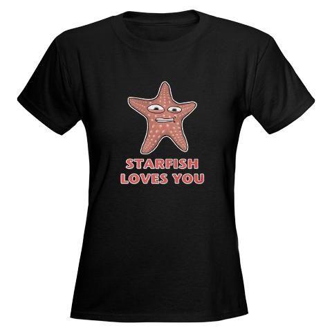 Starfish (Charlie the Unicorn) Women's Dark T-Shirt