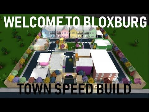 Building A Mini Town Roblox Welcome To Bloxburg 1 - Roblox Welcome To Bloxburg Town Of Flurora Town