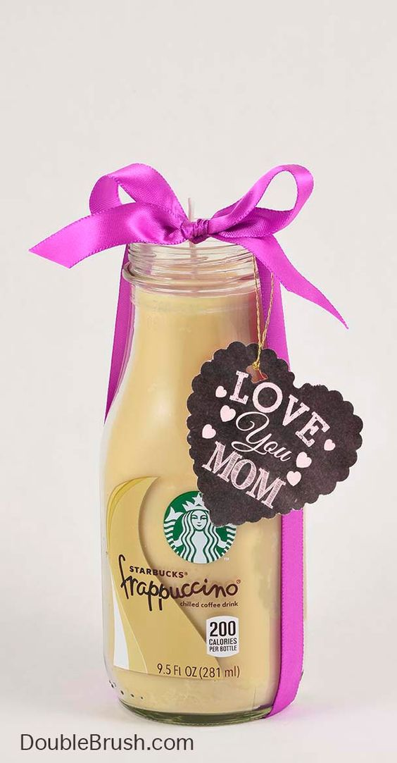 Starbucks Gift Coffee Candle for Mother Love You Mom
