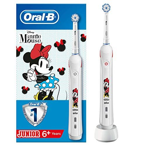 54 Reduziert Oral B Junior Minnie Mouse Elektrische Zahnbürste Mit Visueller Andruckkontrolle Für Kinder Ab 6 Jahren Oral B Oral Dentist