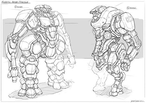 armor robot