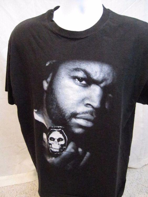 Vintage Ice Cube The Predator t Shirt 1990s Black XL NWA Compton Rap Hip Hop…