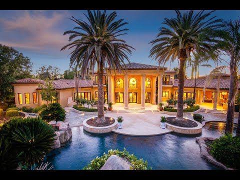 Opulent Mediterranean Estate In Granite Bay California