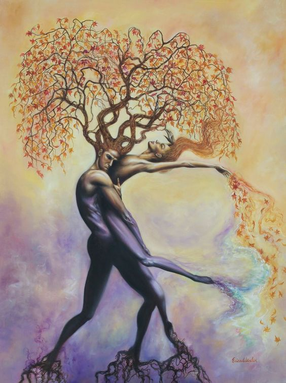 Image of Soul Tangle ~ Oil Painting ~ Prints Available