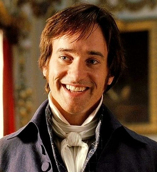 Mr. Darcy - Pride and Prejudice (2005)  played by Mathew MacFadyen. I love his smile!