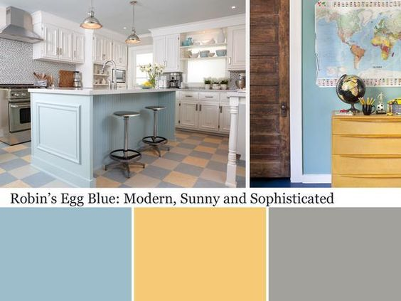 robin 39 s egg blue color and design ideas blue pictures blue gold and kitchen colors. Black Bedroom Furniture Sets. Home Design Ideas