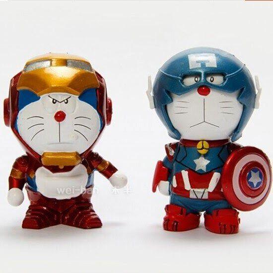 12 Foto Animasi Doraemon Keren 1 Pc Keren Terbaru Iron Man Dan Kapten Amerika Desain Download 7 Fakta Karakter Kartun Doraemon Yang In 2020 Character Art Minions