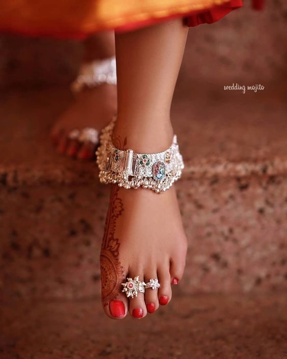 Dainty New Age Anklets & Payals For Brides To Bookmark For Their D-Day! | ShaadiSaga