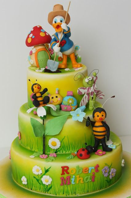 Viorica S Cakes Cake Design Pinterest Beautiful Kid
