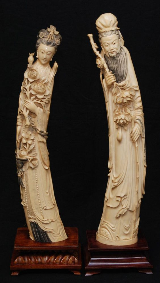 Antique Asian Ivory 64
