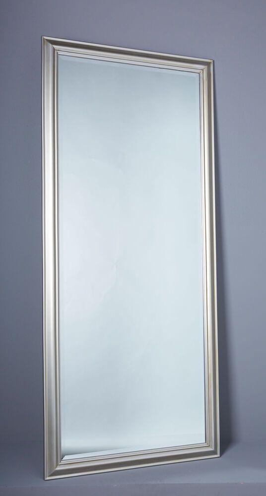 Details Zu Spiegel Wandspiegel Ca 180 X 80 Cm Silber Eleganter