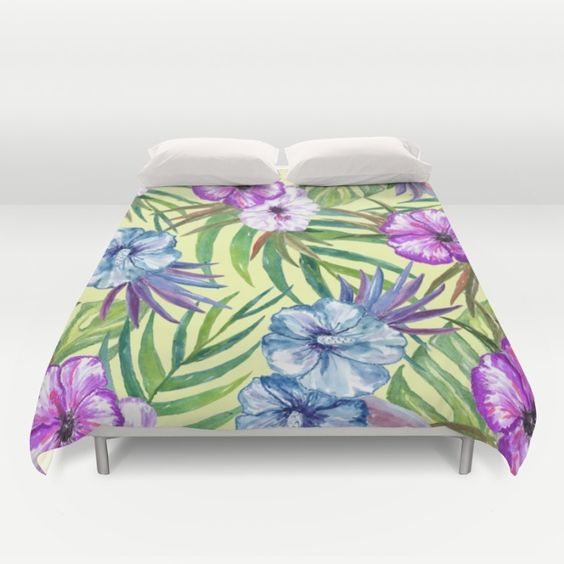 Tropical Summer #3 Duvet Cover by Juliana RW | Society6