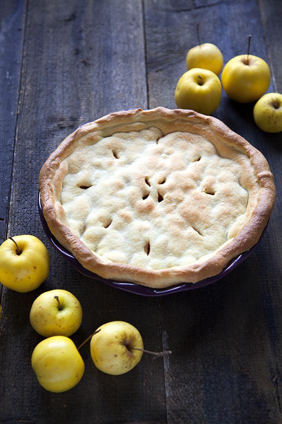 100% Végétal : Apple Pie au Sirop d'Erable & Noix de Pécan / 100% Vegetal : Apple Pie with Maple Sirup & Pecan...<3